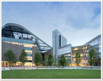Cornell Tech campus in New York City