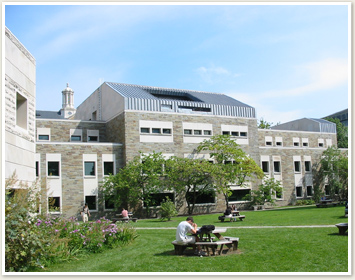 Buildings on the Industrial and Labor Relations Quad